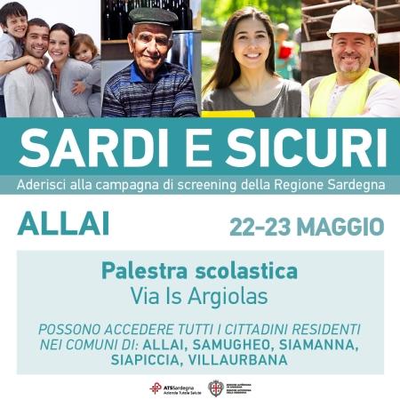 CAMPAGNA DI SCREENING ANTI-COVID19 - SARDI E SICURI
